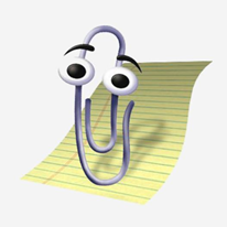Microsoft Paperclip Office Assistant